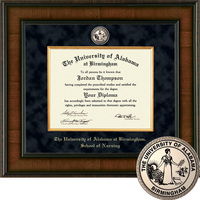 Church Hill Classics Presidential Diploma Frame. PhD Nursing Practitioner (Online Only)