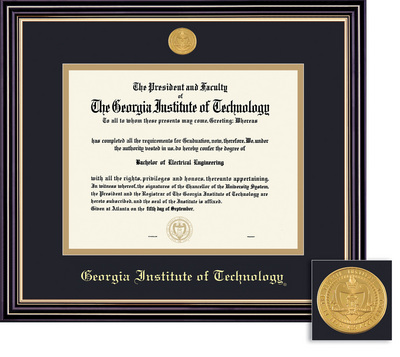 barnes noble tech bookstore framing success prestige  framing success prestige diploma frame double matted in satin black finish gold trim