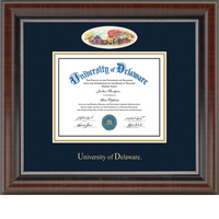 Church Hill Classics Campus Cameo Diploma Frame. Bachelors, Masters, PhD (Online Only)