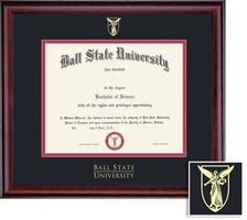 Framing Success Classic BAMA Diploma, Dbl Mat in a rich burnishedcherry finish