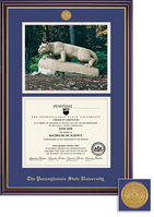 Penn State Nittany Lions Framing Success Windsor Diploma Frame