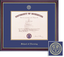 Framing Success Windsor Nursing Double Mat Diploma Frame