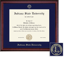 Framing Success Classic Diploma Frame, PhD