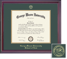 Framing Success Elite Law Diploma Frame Double Matted Diploma Frame