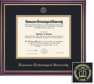 framing success windsor diploma frame in gloss cherry finish and gold trim - Diploma Framing