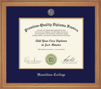 Framing Success Heritage Diploma Frame, Hardwood in Natural Oak Finish
