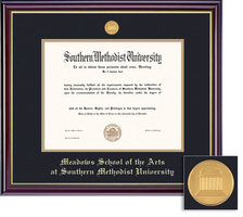 Framing Success Windsor Meadows Medallion Double Matted Bachelors Diploma Frame