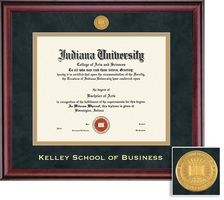 Framing Success Kelley School of Business Classic Double Matted Diploma Frame