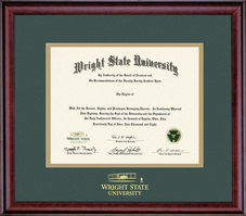 Doctorate. Double Matted Frame