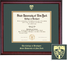 Framing Success Classic 608 Pres Double Matted Diploma Frame
