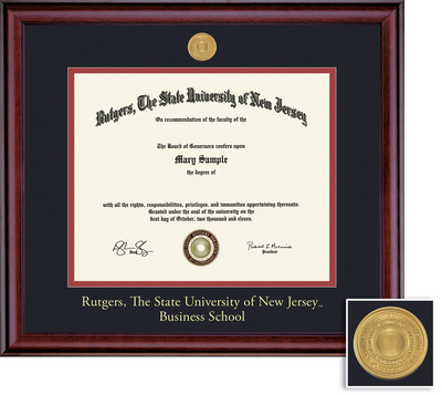 Framing Success Classic Business 11 X 14 With Medallion Double Matted Diploma Frame