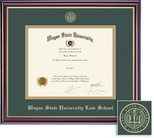 Framing Success Windsor Law Upgrade Double Matted Diploma Frame