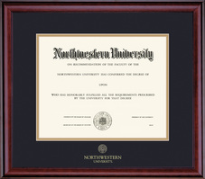 Framing Success Classic No Seal Double Matted Diploma Frame