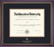 Framing Success Windsor No Seal Double Matted Diploma Frame