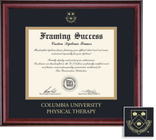 Framing Success Classic Physical Therapy Double Matted Diploma Frame