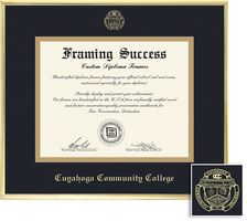 Framing Success Varsity Double Matted Diploma Frame