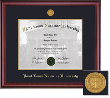 Framing Success Classic Medallion MA Double Matted Diploma Frame