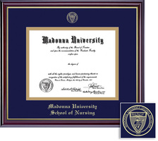 Framing Success Windsor Nursing Double Matted Diploma Frame