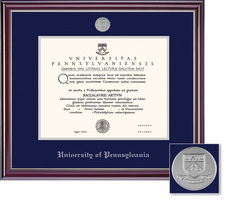 Framing Success University Of Pennsylvania Jefferson Moulding Single Diploma Frame