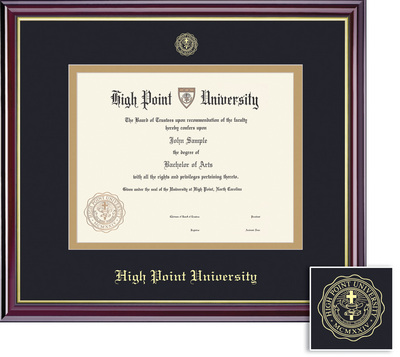 Framing Success Windsor Masters Double Matted Diploma Frame