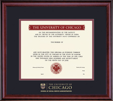 Framing Success Classic SSA Diploma Frame In Cherry Finish