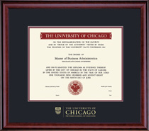 Framing Success Classic Pritzker School of Medicine Diploma Frame