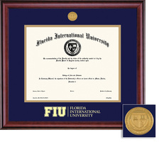Framing Success FIU Masters And Phd Classic Degree Frame