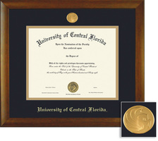 Framing Success Bamboo MA PhD Double Matted Diploma Frame
