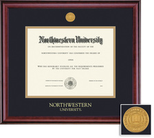 Framing Success Classic Medical Medallion Double Matted Diploma Frame