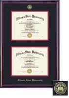 Framing Success Elite Double Diploma Double Matted Diploma Frame