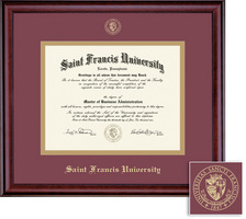 Framing Success Classic Honors Double Matted Diploma Frame