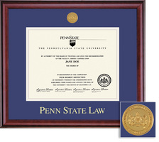 Framing Success Classic Medallion Law Double Matted Diploma Frame