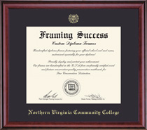 Framing Success Classic Single Mat, Eco Fsc Certified Hardwood In Burnished Cherry Finish