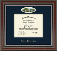 Church Hill Classics Campus Cameo Diploma Frame  Bachelors Masters Ph.D