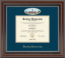 Church Hill Classics Campus Cameo Diploma Frame  AssociatesBachelorsMastersPh.D.