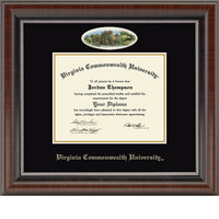 Church Hill Classics Campus Cameo Diploma Frame  Bachelors Masters Ph.D.