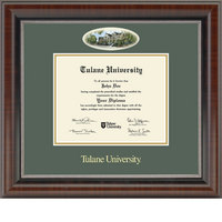 Church Hill Classics Campus Cameo Diploma Frame  AssociatesBachelors