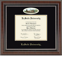Church Hill Classics Campus Cameo Diploma Frame  Bachelors Masters PhD.