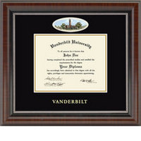 Church Hill Classics Campus Cameo Diploma Frame. Bachelors or Masters