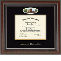 Church Hill Classics Campus Cameo Diploma Frame  BachelorsMastersPh.D.