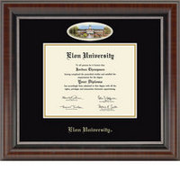 Church Hill Classics Campus Cameo Diploma Frame. Bachelors, Masters