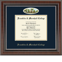 Church Hill Classics Campus Cameo Diploma Frame  Bachelors