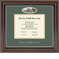 Church Hill Classics Campus Cameo Diploma Frame  AssociatesBachelorsMasters