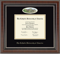 Church Hill Classics Campus Cameo Diploma Frame  Bachelors Masters