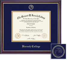 Framing Success Windsor Diploma Frame in Gloss Cherry Finish, Gold Trim