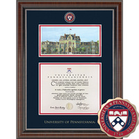 Church Hill Classics Campus Scene Diploma Frame.  Bachelors, Masters, PhD