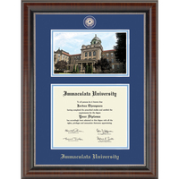 Church Hill Classics Campus Scene Diploma Frame. Associates, Bachelors, Masters