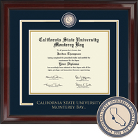 Church Hill Classics Showcase Diploma Frame. Associates, Bachelors, Masters (Online Only)