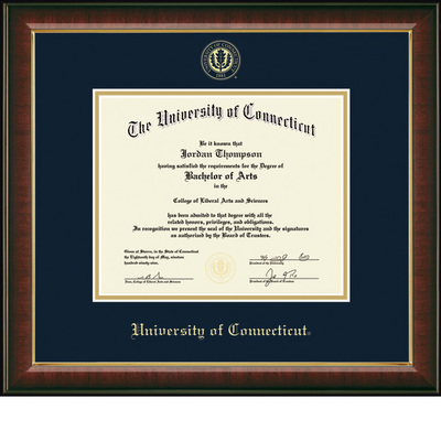 Church Hill Classics Embossed Diploma Frame. Bachelors, Masters.
