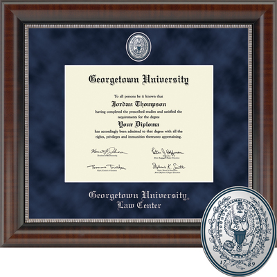 Church Hill Classics Regal Diploma Frame, Law.